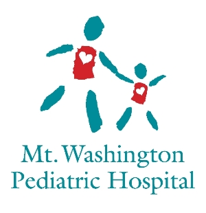 Logo for Pediatric Hospital needs volunteers in all areas of the hospital