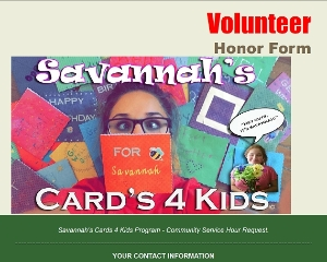 Logo for - Cards 4 Kids! Make a Child smile TODAY! =D