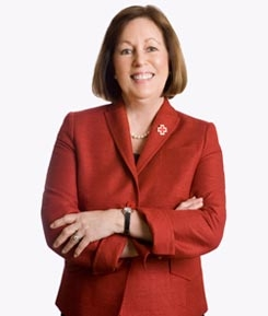 Pam Farr, American Red Cross