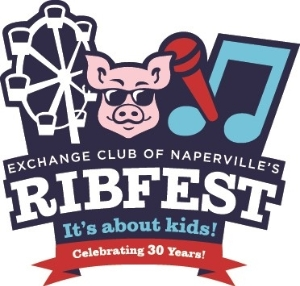 Logo for Gates at Ribfest!  July 3rd