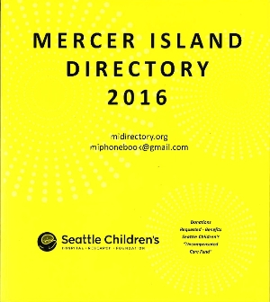 Logo for Mercer Island Directory Team of Volunteers  (MI Guild/Seattle Children's Hospital)