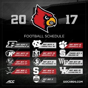 Logo for Louisville Cardinals Football Season Volunteers Needed!!!