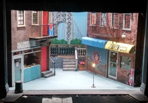 "Finished set for ""In the Heights"""
