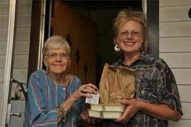 Meals on Wheels Volunteers Deliver Meals