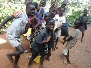 Children at our orphanage centers in Ugand, Africa