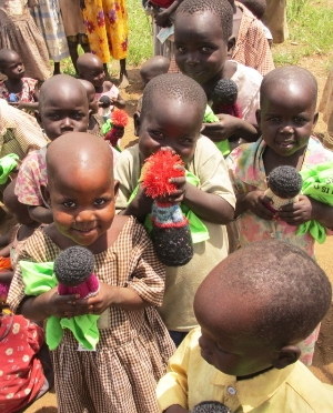 Our Northern Uganda Nursery School Students