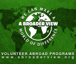 A Broader View Volunteers Logo