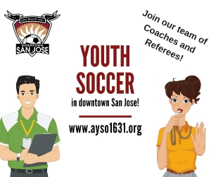 Become a youth soccer coach or referee!