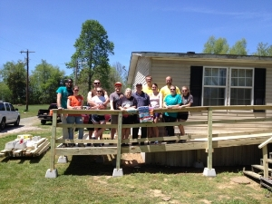 Ramp Project for Elderly Low-Income Homeowner