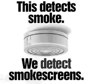 We Detect Smoke Screens