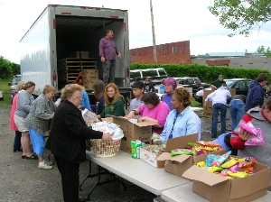 Operation Fresh Express Food Distribution