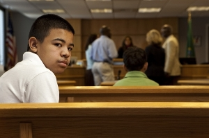 teen in court