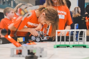 FLL Team Competing