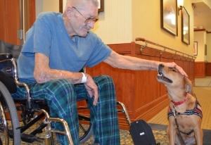 Pet Therapy Teams help reduce stress, anxietyn and lonelines