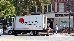 Open Pantry Truck