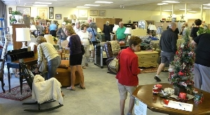 Busy Shoppers at Treasures!