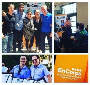 Logo for EnCorps STEM Fellowship: Become a California middle or high school teacher!