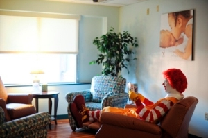 Ronald Visits the Family Room