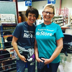 Happy ReStore Volunteers!