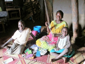 Income-generation helps Abong Lilly & her children