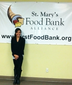 Jennifer Gonzales, St. Mary's Food Bank Alliance