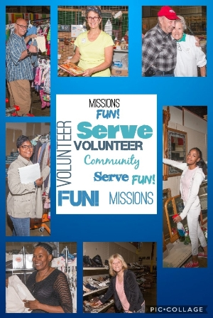 Missions Thrift Store Volunteer