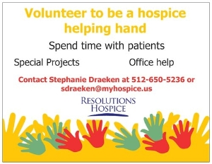 Become a hospice helping hand!