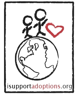 I Support Adoptions Logo