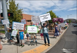 Peoples Climate March Bend