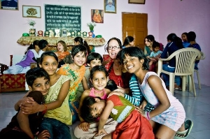 Collaborate in an orphanage in Jaipur