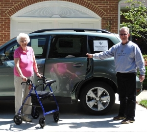 Gaithersburg HELP Transportation Client and Driver