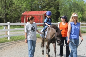Hippotherapy at Shining Hope Farms
