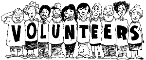 Volunteers are crucial for success
