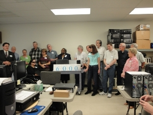 Celebration of 6000th computer - 2013