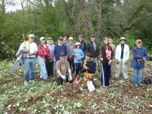 Stewardship Day at the Grass Valley Meadow