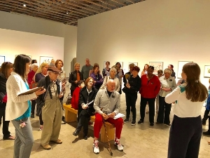SMoCA visitors learn about new exhibition