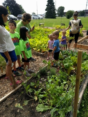 Living Green Community Garden Project