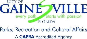 City of Gainesville PRCA logo