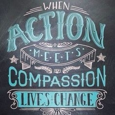 Turn your compassion into action