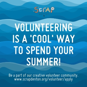 Volunteering is a cool way to spend your summer!