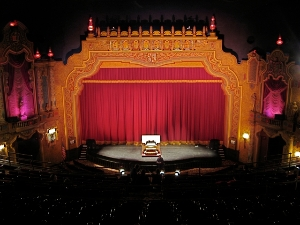 Canton Palace Theatre Stage