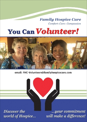 Hospice Volunteer Flyer