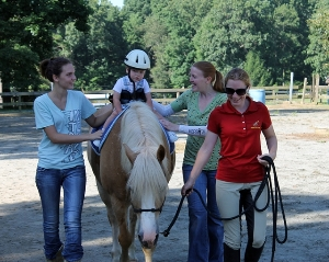 Hippotherapy Session