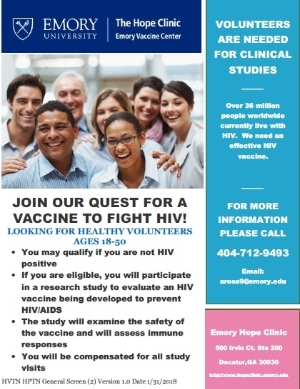 Join Our Quest for a Vaccine to Combat HIV