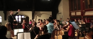 Orchestra in action!