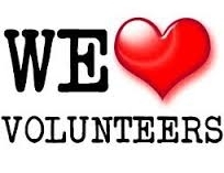 Volunteers - We <3 Volunteers!