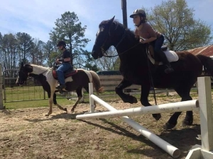 Stargazer Stables riding students 2013