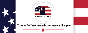 Thanks To Yanks Volunteer Information Night