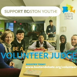 Be a Volunteer Judge!