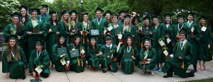 The  Greene School graduating class 2014